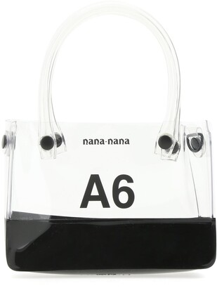 Nana-Nana Two Tone A6 Top Handle Bag