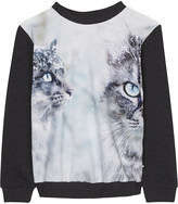 Molo Ragine 2 cat cotton long-sleeve top 4-14 years