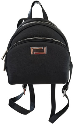 Lancel Lola Black Leather Backpacks