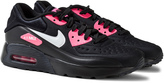 Nike Black and Pink Air Max 90 Ultra SE Trainers