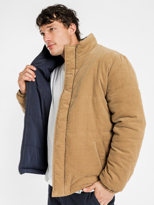 Article One Boden Reversible Puffer Jacket in Stone
