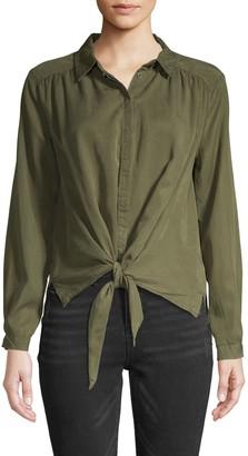 Jak & Rae Tie-Front Shirt