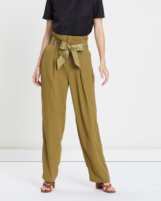 Maison Scotch Celebration High-Waisted Loose Pants