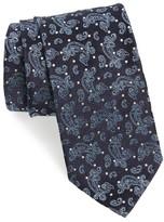 Eton Men's Paisley & Dot Silk Tie