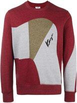 Kenzo panelled sweatshirt