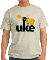 CafePress - Uke Fist - 100% Cotton T-Shirt