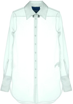 Simon Miller Sheer Longline Shirt