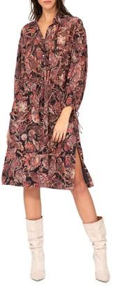 IRO Placid Paisley-Print Shirtdress