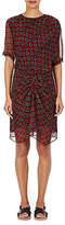 Etoile Isabel Marant Women's Geometric-Print Silk Barden Dress