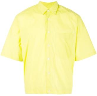Cmmn Swdn lime yellow shirt