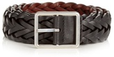 Paul Smith Reversible Woven-leather Belt