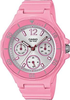 Casio Womens Analogue Quartz Watch with Resin Strap LRW-250H-4A3VEF