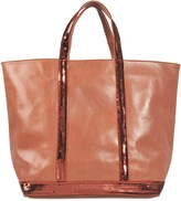 Vanessa Bruno Sequins and leather Medium + tote
