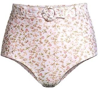 Peony Swimwear La Boheme Hi Bikini Bottom