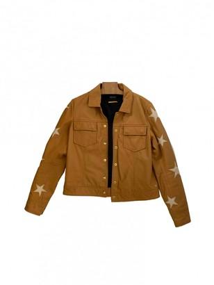 Maison Scotch Leather Leather Jacket for Women