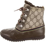 Gucci Boys' GG Snow Boots