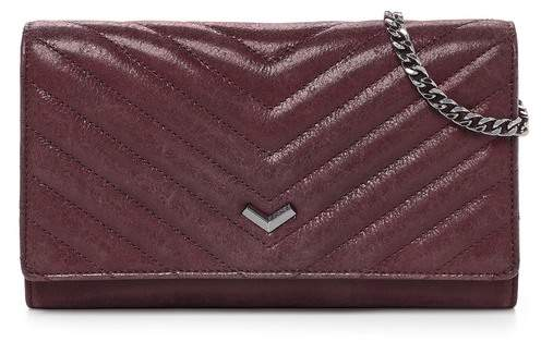Botkier Soho Quilted Leather Wallet Chain Strap Crossbody Bag