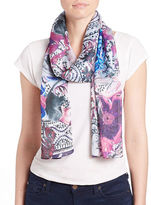 Collection 18 Floral Scarf