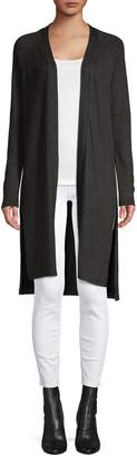 Halston H Raglan-Sleeve Open-Front Cardigan