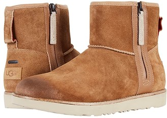 UGG Classic Mini Zip Waterproof (Chestnut) Men's Boots