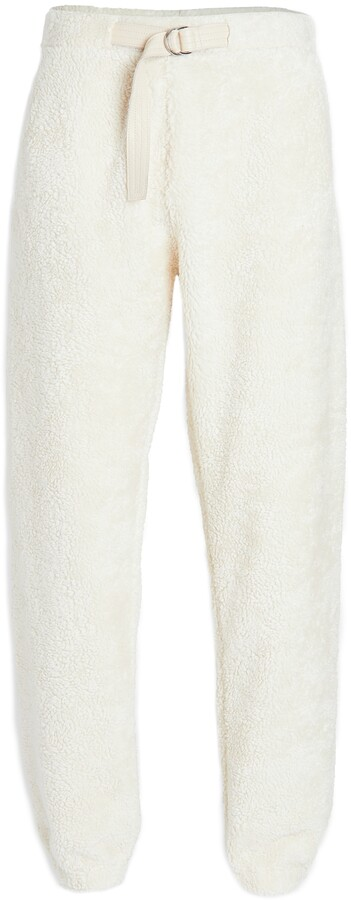 Thumbnail for your product : Helmut Lang Shaggy Fleece Belted Sweatpants
