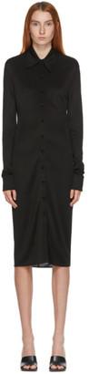 Kwaidan Editions SSENSE Exclusive Black Button-Down Dress
