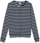 Petit Bateau Iconic womens striped cardigan