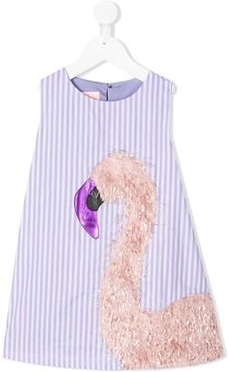 Wauw Capow By Bangbang Sugar striped cotton dress