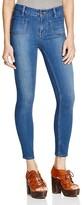 Free People Beverley Skinny Jeans in Denim Blue