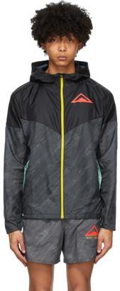 Nike Black Trail Windrunner Jacket