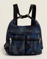 Sondra Roberts Small Nylon Convertible Backpack