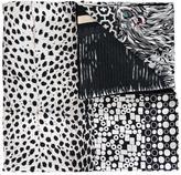 Pierre Louis Mascia Pierre-Louis Mascia multi pattern scarf