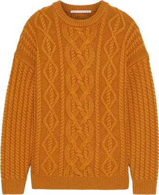 Emilia Wickstead Kobe Cable-knit Wool Sweater