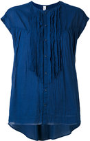 Pas De Calais ruffled front blouse - women - Cotton - 36