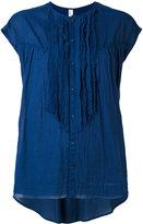 Pas De Calais ruffled front blouse