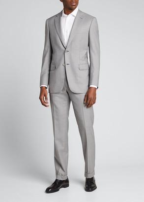 Brioni Men's Solid Two-Piece Wool Suit
