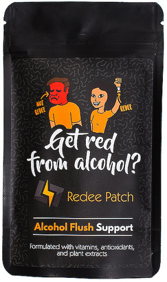 Redee Patch Alcohol Flush Support Patch 6 Pack