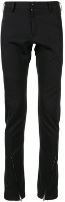 Sulvam Ankle-Zip Skinny Trousers