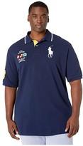 Polo Ralph Lauren Big & Tall Big Tall Short Sleeve Basic Mesh Polo (Cruise Navy) Men's Short Sleeve Knit