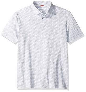 Stone Rose Men's Performance Golf Print Short Sleeve Polo