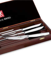 Zwilling J.A. Henckels Twin Gourmet 8-Piece Stainless Steak Knife Set