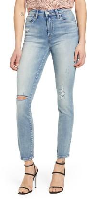 Blank NYC Bond Ripped Straight Leg Jeans