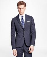 Brooks Brothers Mini Check Suit Jacket