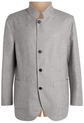 Brunello Cucinelli Reversible Cashmere-Silk Jacket