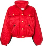 Chanel Pre Owned 1980s standing collar puffy jacket
