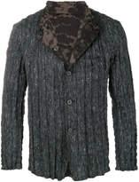 Issey Miyake crinkled jacket