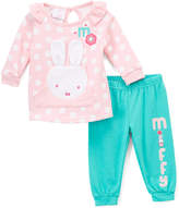 Children's Apparel Network Miffy Pink Long-Sleeve Top & Pant - Infant
