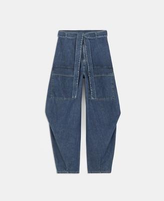 Stella McCartney summer blue denim jeans