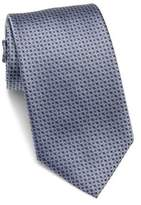 HUGO BOSS Square Patterned Silk Tie