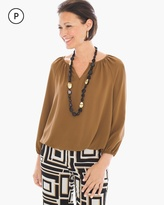 Chico's Everyday Peasant Top